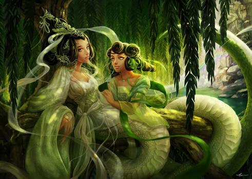 White Snake and Green Snake