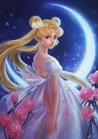 Moon Princess by yangtianli
