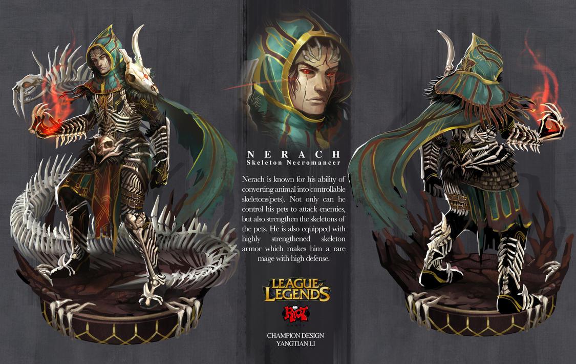 League Of Legends Character Design Contest : Lol champion design nerach by yangtianli on deviantart