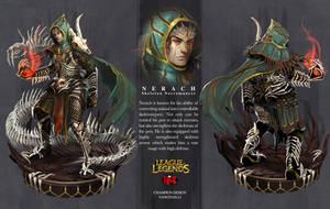 LoL Champion design -NERACH by yangtianli