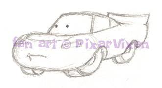 FG style Lightning McQueen 1