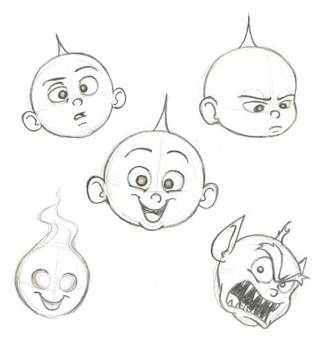 How To Draw Jack Jack Parr