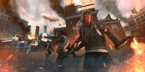 Freedom Fighters: Homefront The Revolution Contest by Under-O