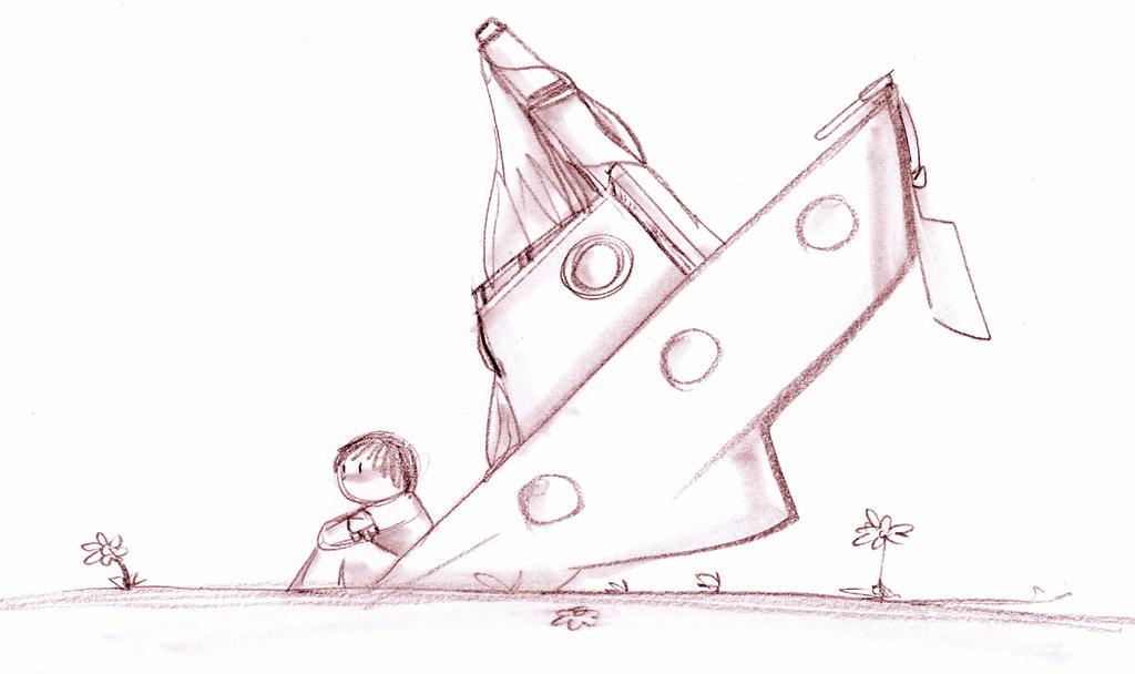 The boat by lineheartlukasan