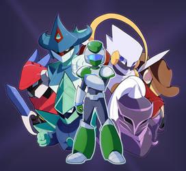 Meet the Heroes! by CyberAxl