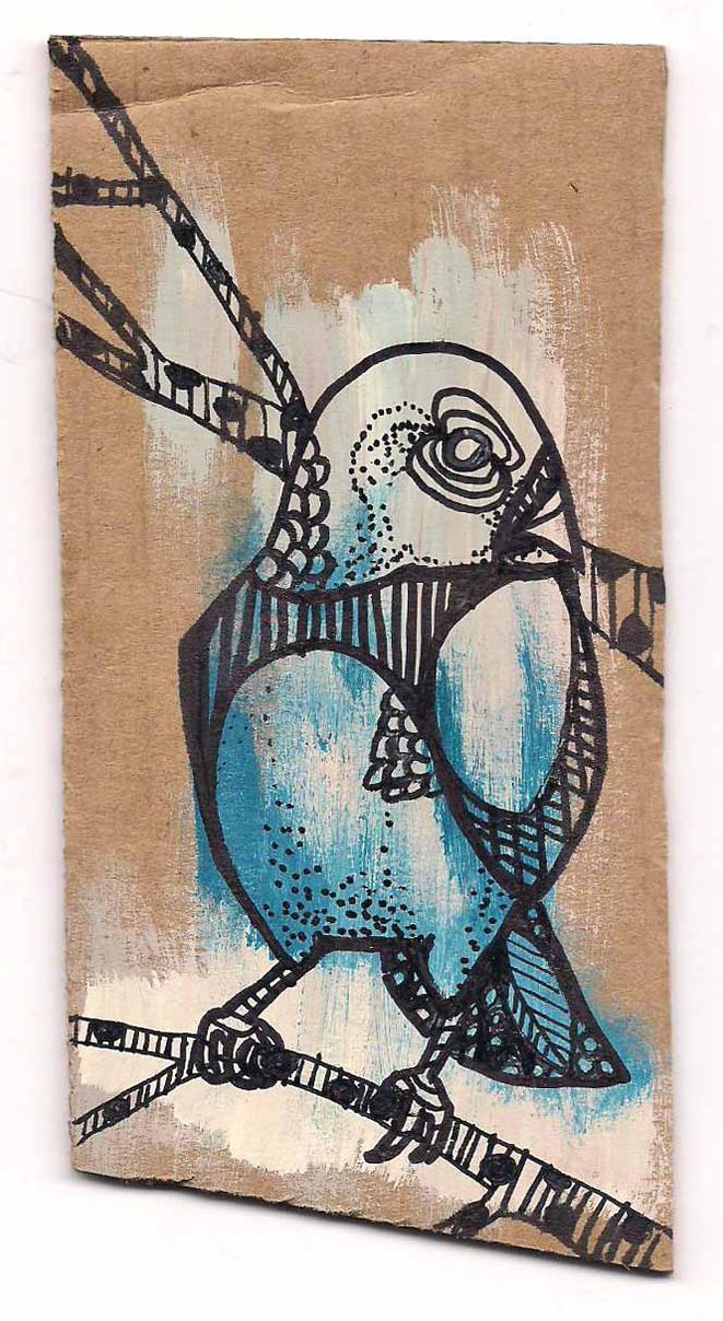 Bleu Finch by RedApricot