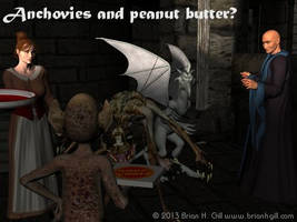 Halloween 2013: Anchovies and peanut butter? by Norski