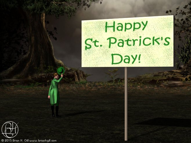 St. Patrick's Day: May the Road Rise to Meet You by Norski