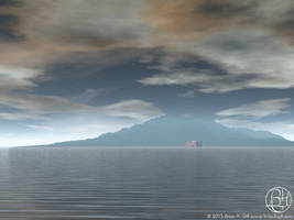 An Island: Somewhere by Norski
