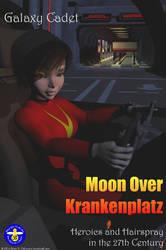 Moon Over Krankenplatz Poster by Norski