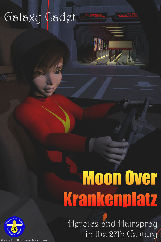 Moon Over Krankenplatz Poster