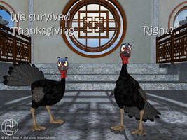 We Survived Thanksgiving. Right? by Norski