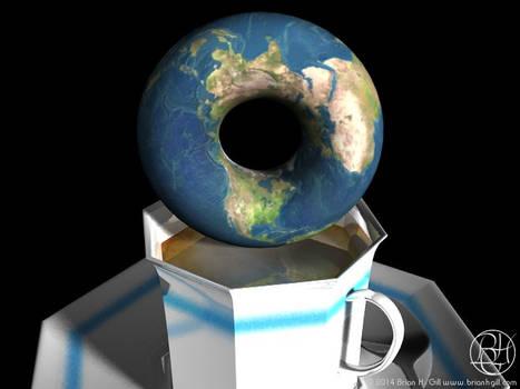 Cosmic Coffee Cup