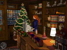 Christmas Toy Store by Norski