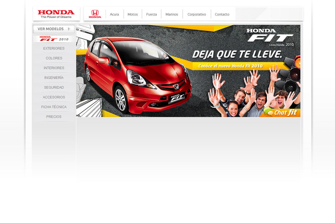 propuesta honda fit 2010 by diego64