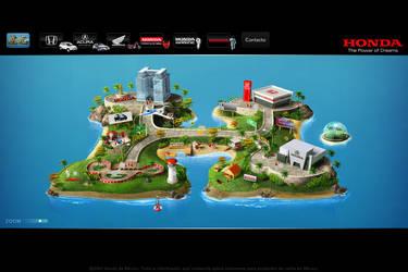 isla honda 2008 webdesign by diego64