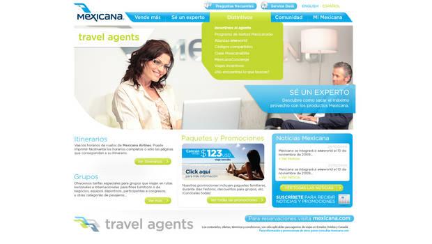 mexicana travel agents