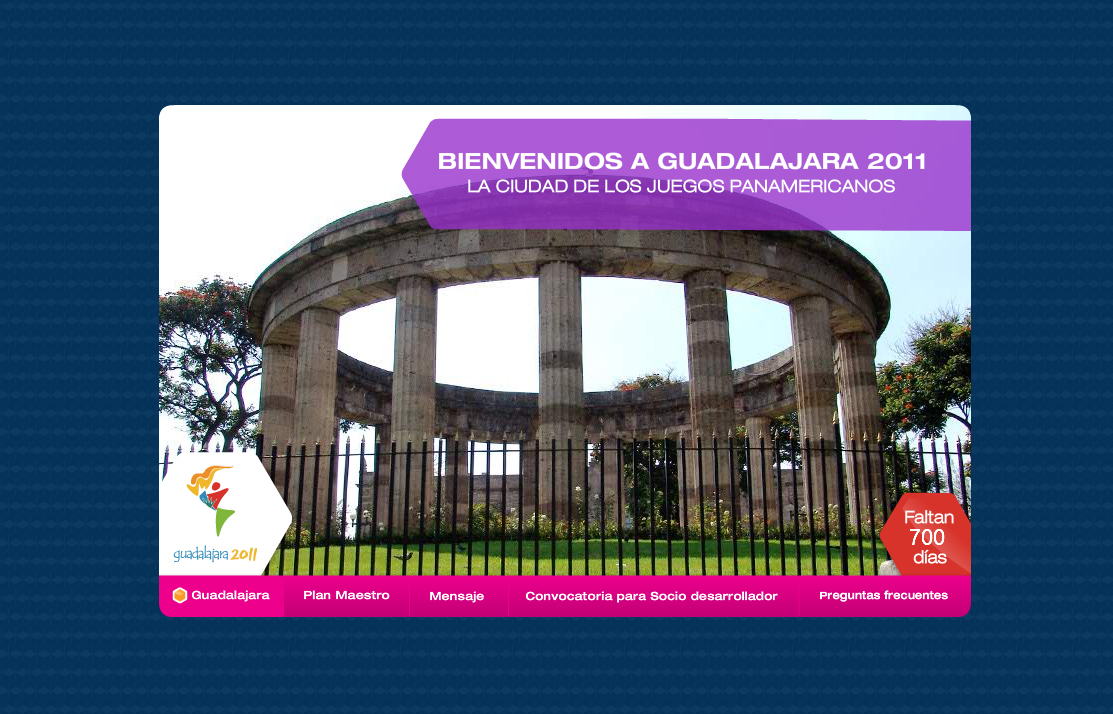villa panamericana webdesign by diego64
