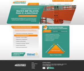 intarlake corporate web design