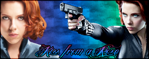 Black Widow - Kiss from a Rose by ironheartwriter