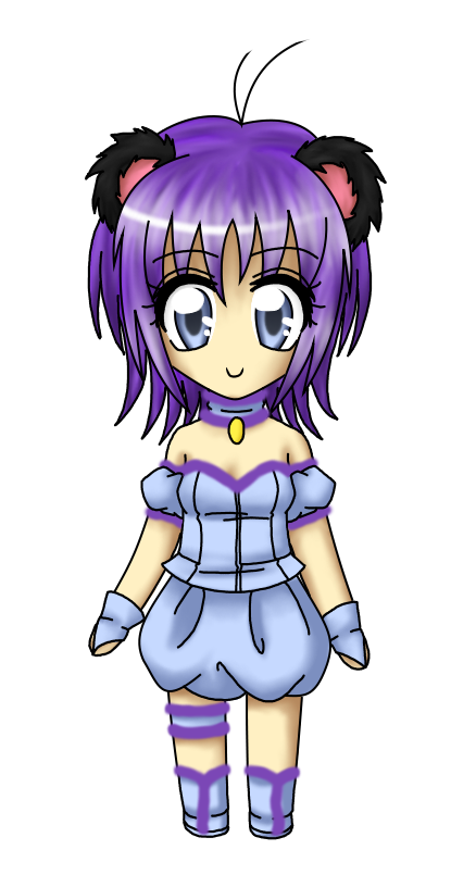 Chibi Mew Stardustberry by MewMizu