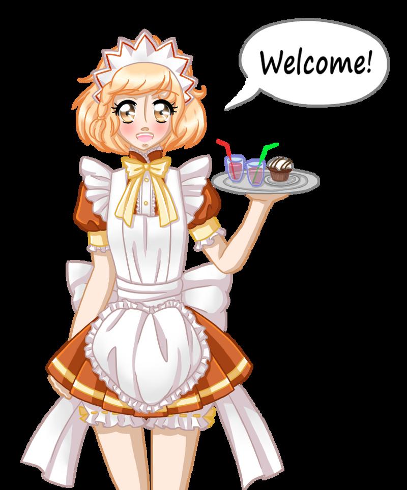 Fukuro says welcome! by MewMizu