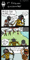 SKYRIM - First forsworn encounter by MagiTheLion