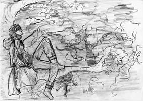 Elderly Magi - Skyrim by MagiTheLion
