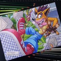 Crash Bandicoot by ShibuM1