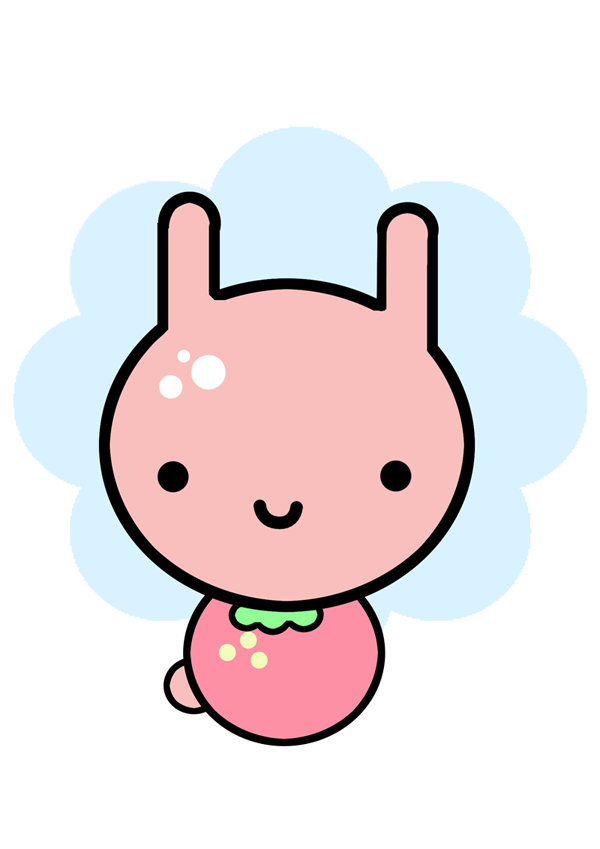Cute bunny design by Lammash on DeviantArt