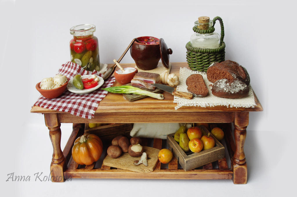 Ukrainian cuisine #2 by PodrugaSamodelkina