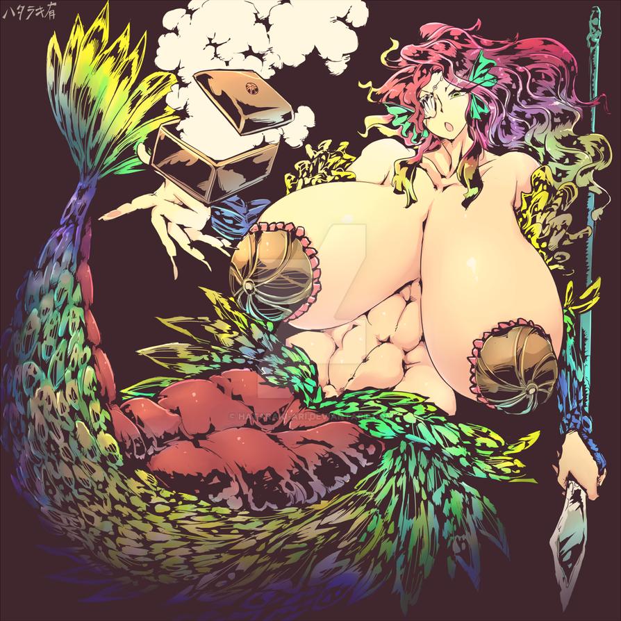 Mermaid Andrea by hataraki-ari