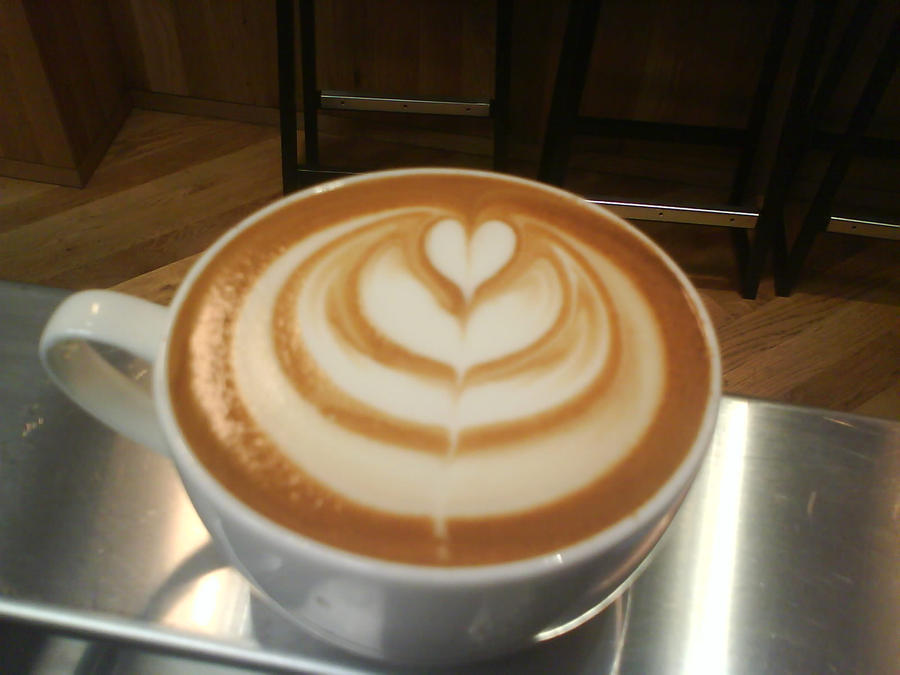 Latte Art Tulip latte art  tulip by cauecre2