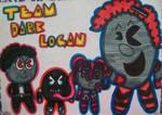 Team Dark Logan (Pac-world rally style)