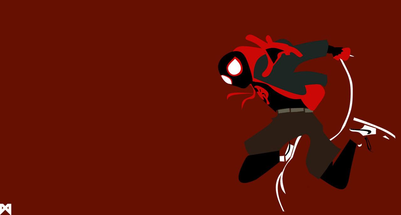Ultimate Spider Man Minimalist Desktop Wallpaper By Mattprz