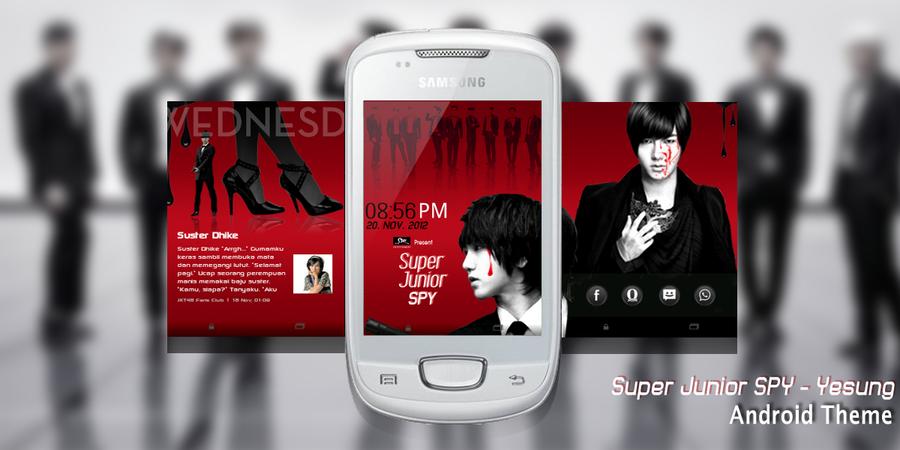 Super Junior SPY - Yesung Edition by FdL1899