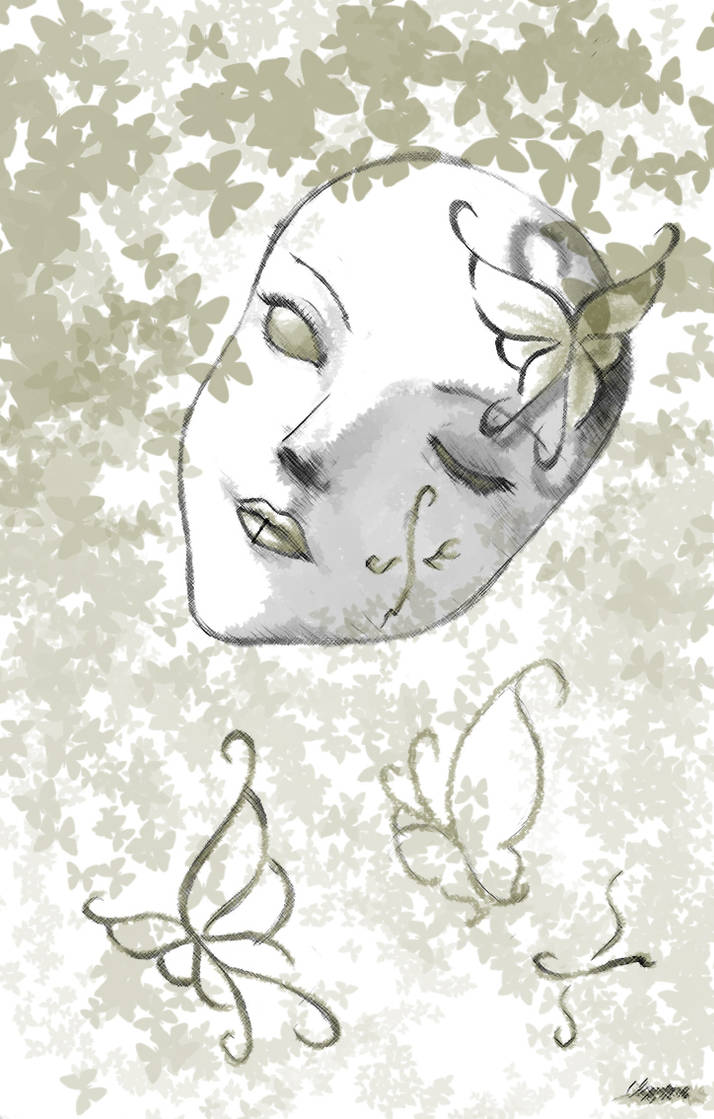 Butterflymask - colored