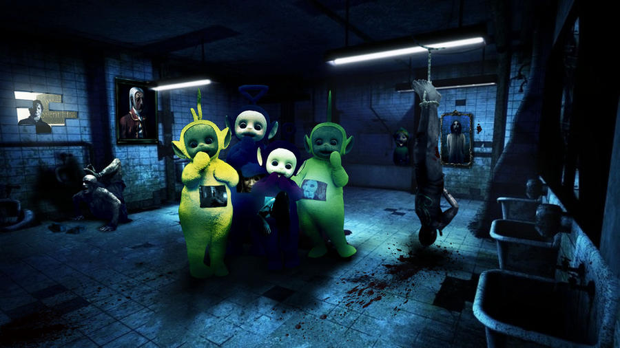 Horror Teletubbies By Juuuso On Deviantart