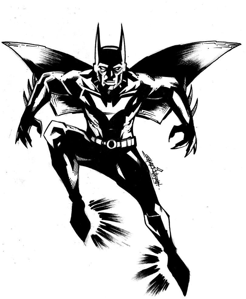 Batman Beyond By JamesWhynotInks