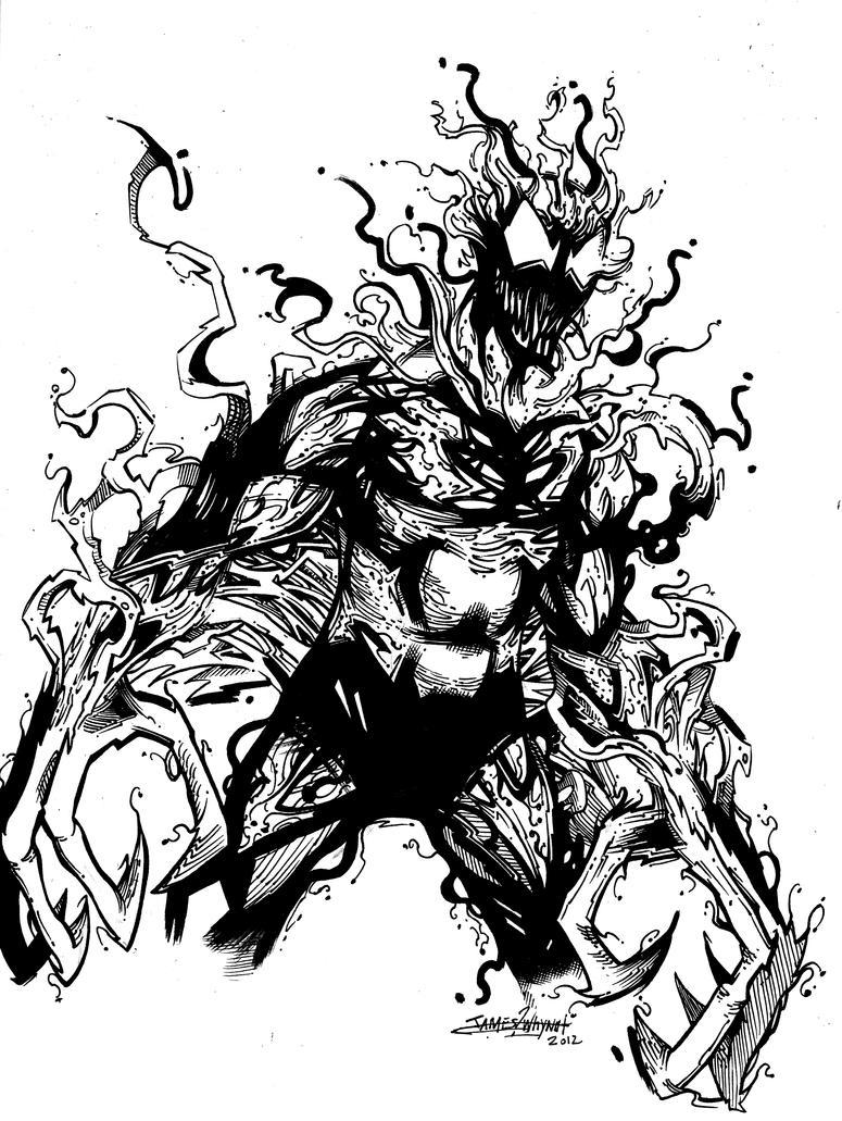 Spiderman vs carnage drawings - photo#37