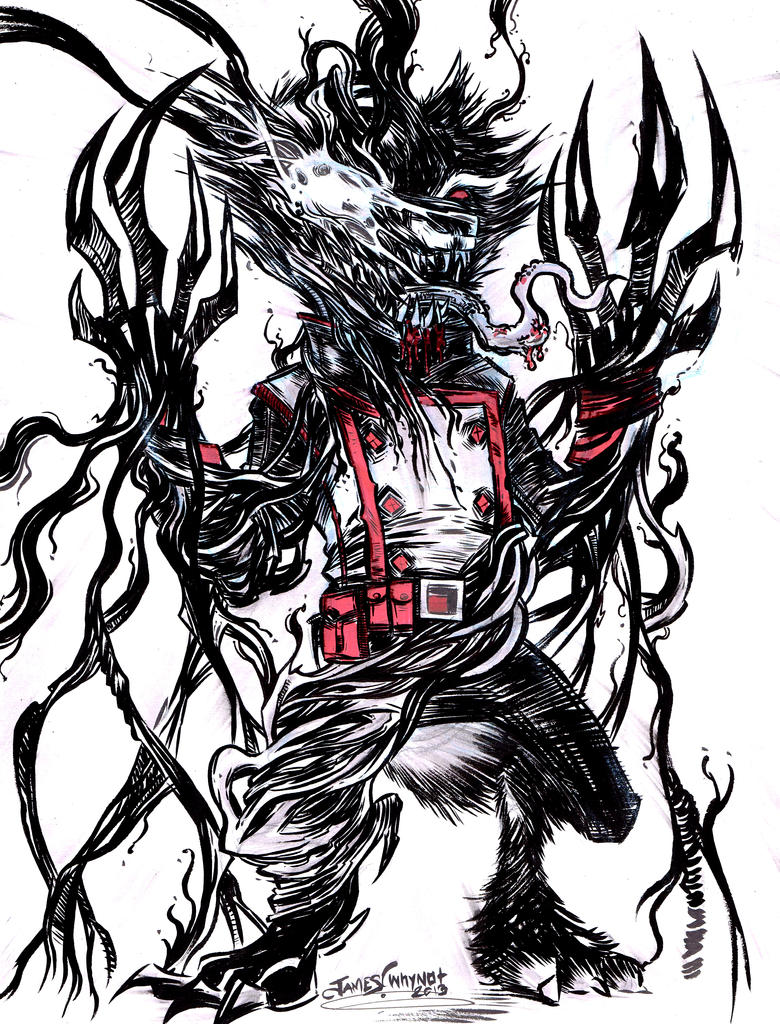 Rocket Raccoon/ Venom by JamesWhynotInks