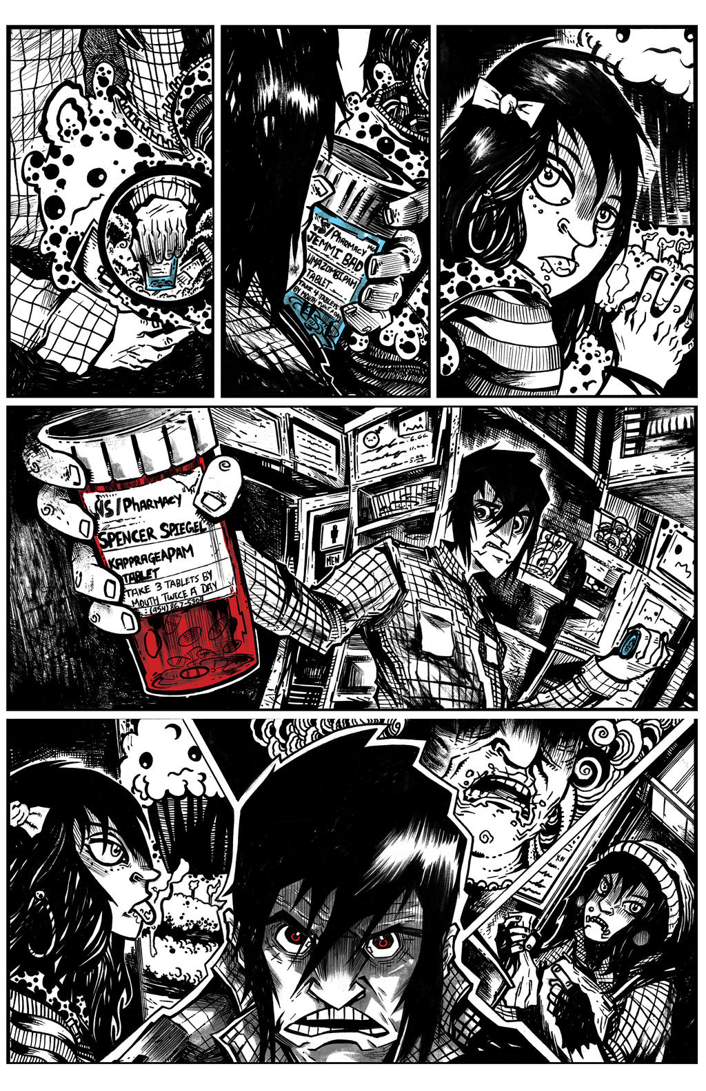 Side Effect Page 2 by JamesWhynotInks