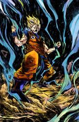 Super Saiyan Goku colors