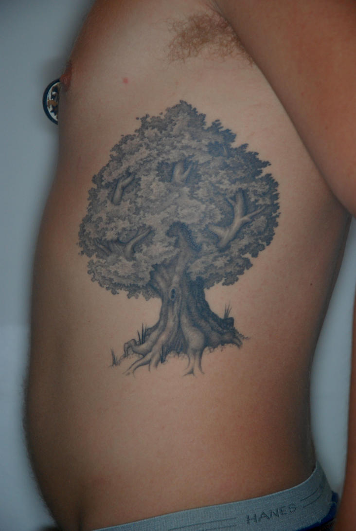 Peace tree tattoo by a p t on deviantart