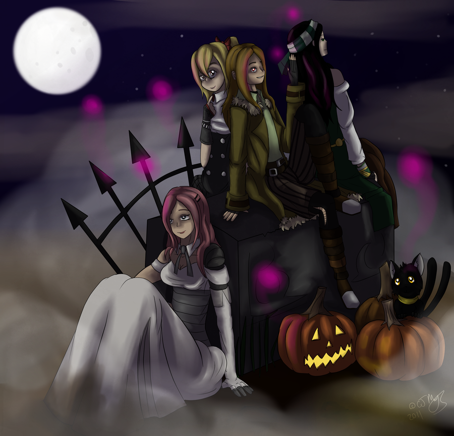 Happy Halloween by Drakon-the-Demon