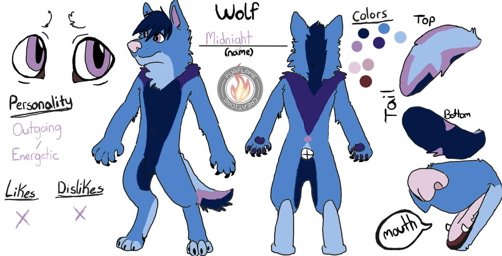 Wolf Ref Midnight by FireStar810