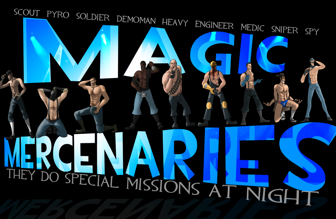 Magic Mercenaries Poster by Py-Bun