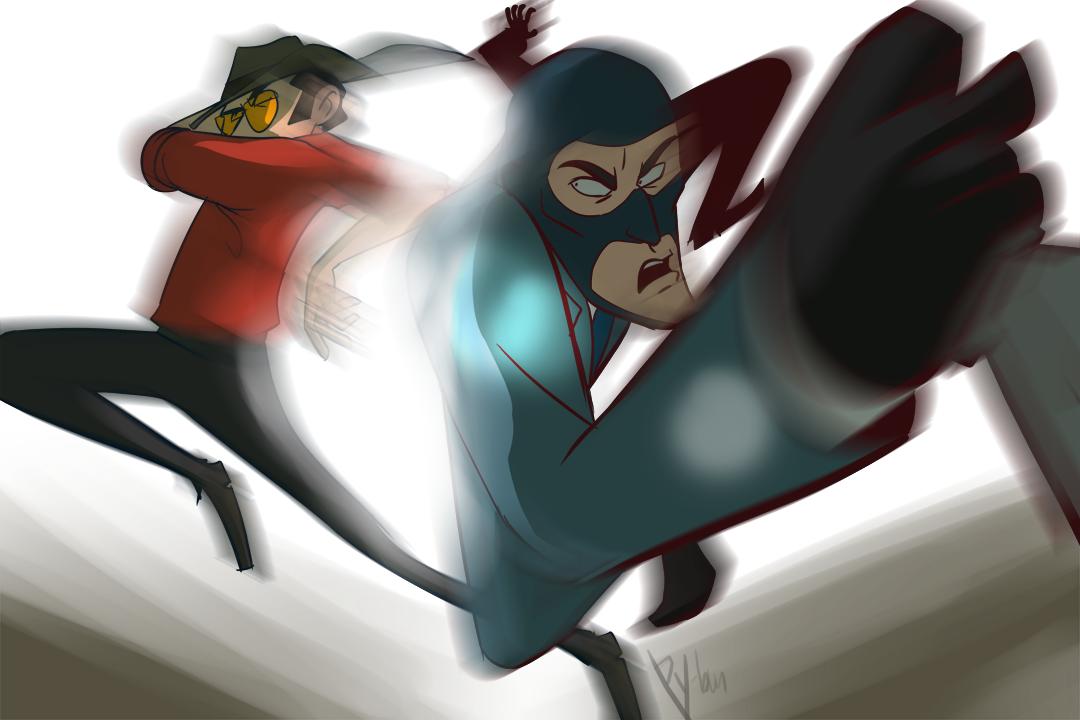 Graceful Assassins by Py-Bun