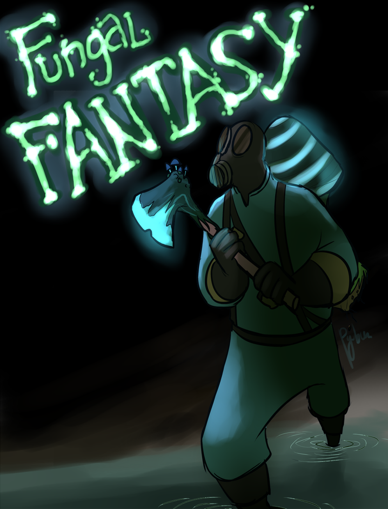 Fungal Fantasy by Py-Bun