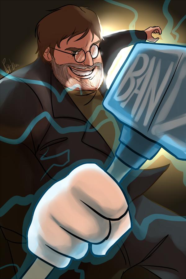 Ban Hammer by Py-Bun